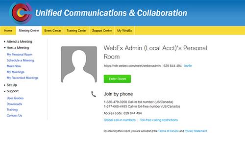 UCC Webex